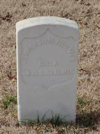 HOLMES  (VETERAN UNION), JEFFERSON - Pulaski County, Arkansas | JEFFERSON HOLMES  (VETERAN UNION) - Arkansas Gravestone Photos