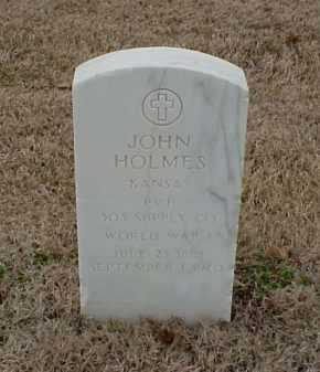 HOLMES  (VETERAN WWI), JOHN - Pulaski County, Arkansas | JOHN HOLMES  (VETERAN WWI) - Arkansas Gravestone Photos