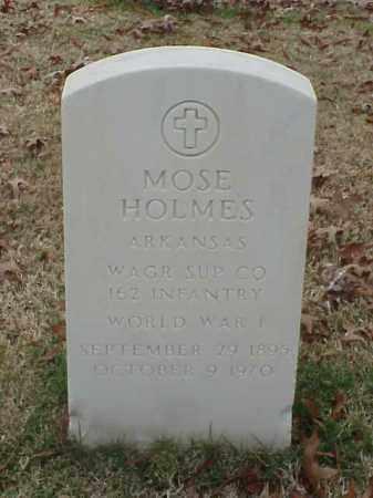 HOLMES  (VETERAN WWI), MOSE - Pulaski County, Arkansas | MOSE HOLMES  (VETERAN WWI) - Arkansas Gravestone Photos