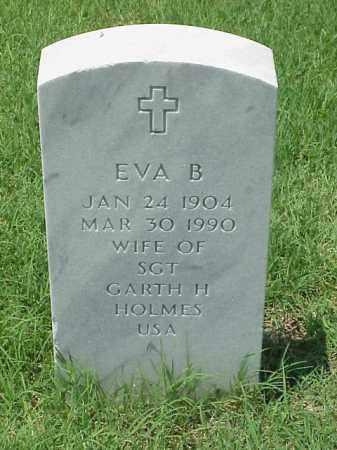 HOLMES, EVA B - Pulaski County, Arkansas | EVA B HOLMES - Arkansas Gravestone Photos