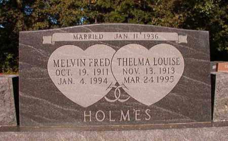 HOLMES, THELMA LOUISE - Pulaski County, Arkansas | THELMA LOUISE HOLMES - Arkansas Gravestone Photos
