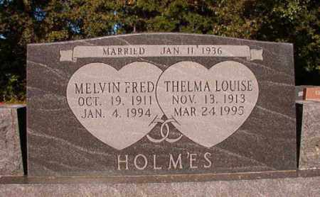 HOLMES, MELVIN FRED - Pulaski County, Arkansas | MELVIN FRED HOLMES - Arkansas Gravestone Photos