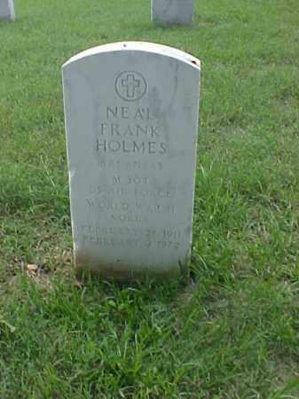 HOLMES (VETERAN 2 WARS), NEAL FRANK - Pulaski County, Arkansas | NEAL FRANK HOLMES (VETERAN 2 WARS) - Arkansas Gravestone Photos