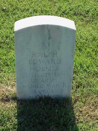 HOLMES (VETERAN 2 WARS), RALPH EDWARD - Pulaski County, Arkansas   RALPH EDWARD HOLMES (VETERAN 2 WARS) - Arkansas Gravestone Photos