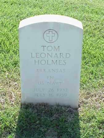 HOLMES (VETERAN), TOM LEONARD - Pulaski County, Arkansas | TOM LEONARD HOLMES (VETERAN) - Arkansas Gravestone Photos
