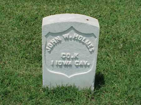 HOLMES (VETERAN UNION), JOHN W - Pulaski County, Arkansas   JOHN W HOLMES (VETERAN UNION) - Arkansas Gravestone Photos