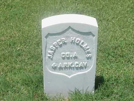 HOLMES (VETERAN UNION), JASPER - Pulaski County, Arkansas   JASPER HOLMES (VETERAN UNION) - Arkansas Gravestone Photos