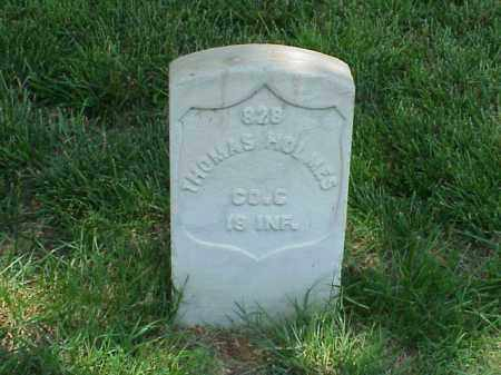 HOLMES (VETERAN UNION), THOMAS - Pulaski County, Arkansas | THOMAS HOLMES (VETERAN UNION) - Arkansas Gravestone Photos