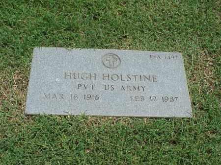 HOLSTINE (VETERAN), HUGH - Pulaski County, Arkansas | HUGH HOLSTINE (VETERAN) - Arkansas Gravestone Photos