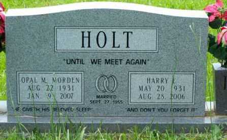 HOLT, HARRY E - Pulaski County, Arkansas   HARRY E HOLT - Arkansas Gravestone Photos