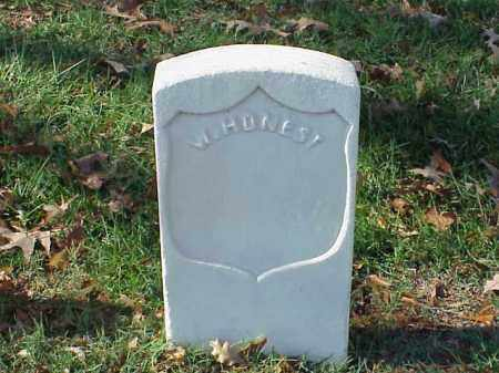 HONEST  (VETERAN UNION), W - Pulaski County, Arkansas | W HONEST  (VETERAN UNION) - Arkansas Gravestone Photos