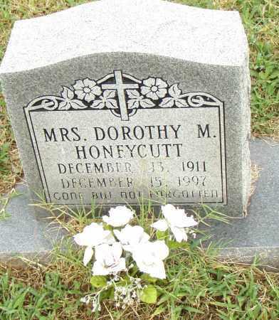 HONEYCUTT, DOROTHY M. - Pulaski County, Arkansas   DOROTHY M. HONEYCUTT - Arkansas Gravestone Photos