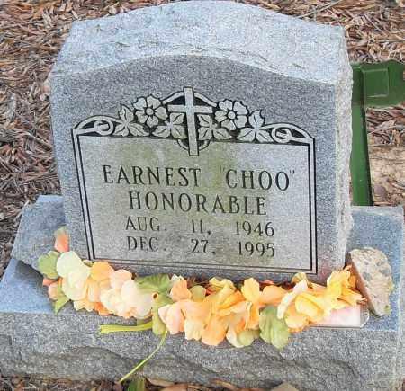 """HONORABLE, EARNEST """"CHOO"""" - Pulaski County, Arkansas   EARNEST """"CHOO"""" HONORABLE - Arkansas Gravestone Photos"""