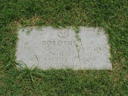 HOOD, DOROTHY L. - Pulaski County, Arkansas | DOROTHY L. HOOD - Arkansas Gravestone Photos