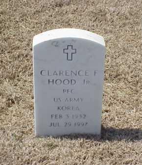 HOOD, JR (VETERAN KOR), CLARENCE F - Pulaski County, Arkansas   CLARENCE F HOOD, JR (VETERAN KOR) - Arkansas Gravestone Photos