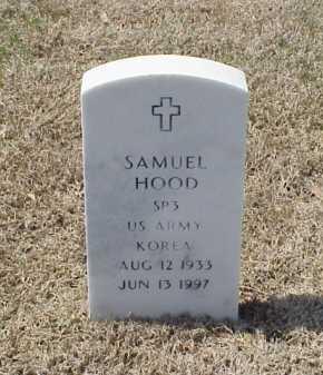 HOOD (VETERAN KOR), SAMUEL - Pulaski County, Arkansas   SAMUEL HOOD (VETERAN KOR) - Arkansas Gravestone Photos
