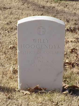 HOOGENDYK  (VETERAN WWI), WILLY - Pulaski County, Arkansas | WILLY HOOGENDYK  (VETERAN WWI) - Arkansas Gravestone Photos