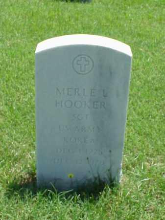 HOOKER (VETERAN KOR), MERLE L - Pulaski County, Arkansas | MERLE L HOOKER (VETERAN KOR) - Arkansas Gravestone Photos