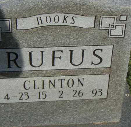 HOOKS, RUFUS CLINTON - Pulaski County, Arkansas   RUFUS CLINTON HOOKS - Arkansas Gravestone Photos