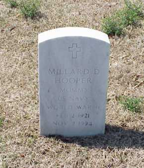HOOPER (VETERAN WWII), MILLARD D - Pulaski County, Arkansas | MILLARD D HOOPER (VETERAN WWII) - Arkansas Gravestone Photos
