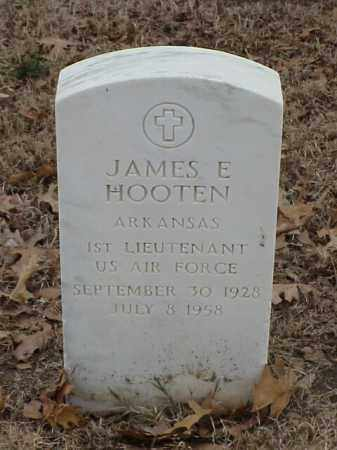 HOOTEN (VETERAN KOR), JAMES E - Pulaski County, Arkansas | JAMES E HOOTEN (VETERAN KOR) - Arkansas Gravestone Photos