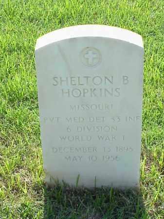 HOPKINS (VETERAN WWI), SHELTON B - Pulaski County, Arkansas | SHELTON B HOPKINS (VETERAN WWI) - Arkansas Gravestone Photos
