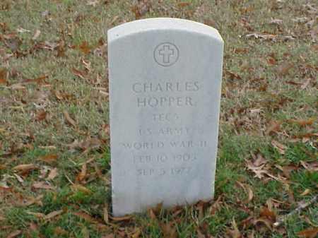 HOPPER  (VETERAN WWII), CHARLES - Pulaski County, Arkansas | CHARLES HOPPER  (VETERAN WWII) - Arkansas Gravestone Photos