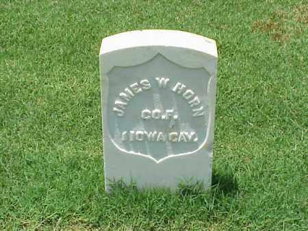 HORN (VETERAN UNION), JAMES W - Pulaski County, Arkansas | JAMES W HORN (VETERAN UNION) - Arkansas Gravestone Photos