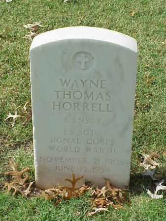 HORRELL  (VETERAN WWII), WAYNE THOMAS - Pulaski County, Arkansas | WAYNE THOMAS HORRELL  (VETERAN WWII) - Arkansas Gravestone Photos