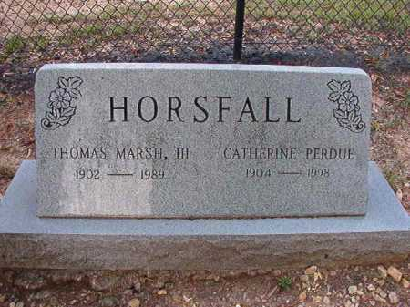HORSFALL, III, THOMAS MARSH - Pulaski County, Arkansas | THOMAS MARSH HORSFALL, III - Arkansas Gravestone Photos