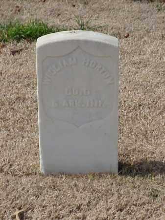HORTON  (VETERAN UNION), WILLIAM - Pulaski County, Arkansas | WILLIAM HORTON  (VETERAN UNION) - Arkansas Gravestone Photos