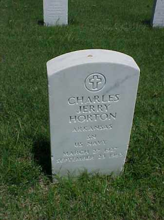 HORTON (VETERAN), CHARLES JERRY - Pulaski County, Arkansas | CHARLES JERRY HORTON (VETERAN) - Arkansas Gravestone Photos