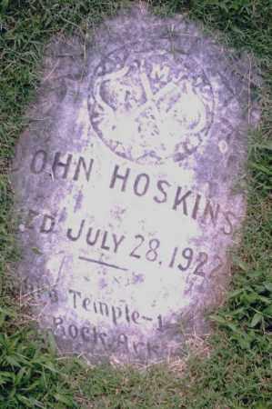 HOSKINS, JOHN - Pulaski County, Arkansas | JOHN HOSKINS - Arkansas Gravestone Photos