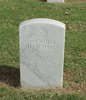 HOTCHKISS  (VETERAN WWII), HAROLD - Pulaski County, Arkansas   HAROLD HOTCHKISS  (VETERAN WWII) - Arkansas Gravestone Photos