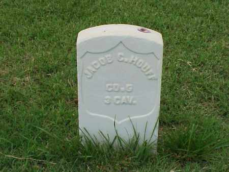 HOUFF (VETERAN UNION), JACOB C - Pulaski County, Arkansas | JACOB C HOUFF (VETERAN UNION) - Arkansas Gravestone Photos