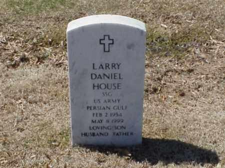 HOUSE  (VETERAN PGW), LARRY DANIEL - Pulaski County, Arkansas   LARRY DANIEL HOUSE  (VETERAN PGW) - Arkansas Gravestone Photos