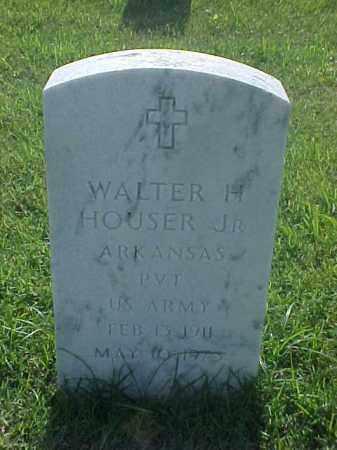 HOUSER, JR (VETERAN), WALTER H - Pulaski County, Arkansas | WALTER H HOUSER, JR (VETERAN) - Arkansas Gravestone Photos