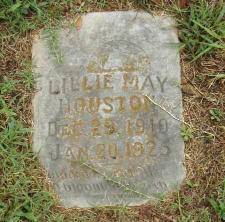HOUSTON, LILLIE MAY - Pulaski County, Arkansas   LILLIE MAY HOUSTON - Arkansas Gravestone Photos