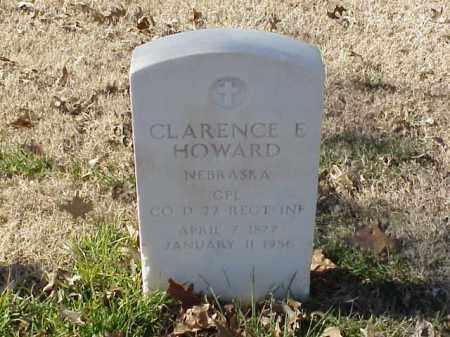 HOWARD  (VETERAN), CLARENCE E - Pulaski County, Arkansas | CLARENCE E HOWARD  (VETERAN) - Arkansas Gravestone Photos