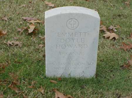 HOWARD  (VETERAN WWII), EMMETT DOYLE - Pulaski County, Arkansas | EMMETT DOYLE HOWARD  (VETERAN WWII) - Arkansas Gravestone Photos