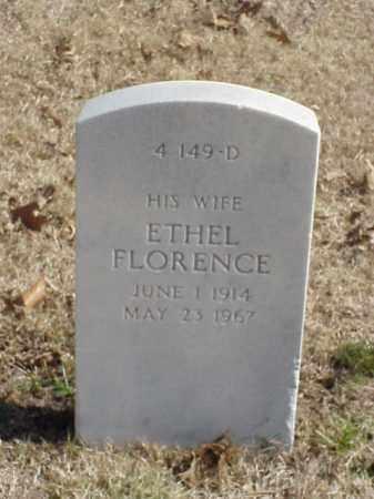 HOARD, ETHEL FLORENCE - Pulaski County, Arkansas   ETHEL FLORENCE HOARD - Arkansas Gravestone Photos