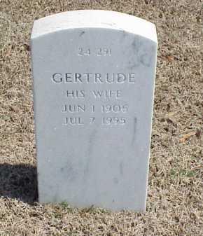 HOWARD, GERTRUDE - Pulaski County, Arkansas | GERTRUDE HOWARD - Arkansas Gravestone Photos