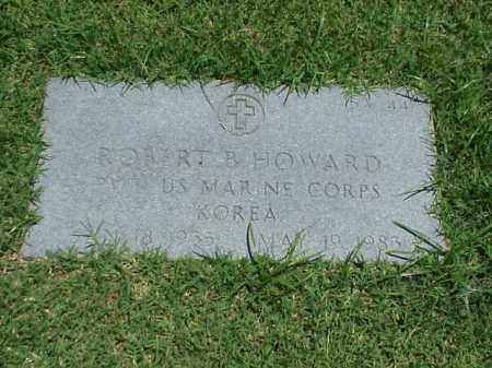 HOWARD (VETERAN KOR), ROBERT B - Pulaski County, Arkansas   ROBERT B HOWARD (VETERAN KOR) - Arkansas Gravestone Photos