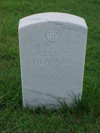 HOWARD (VETERAN WWI), KELSEY - Pulaski County, Arkansas | KELSEY HOWARD (VETERAN WWI) - Arkansas Gravestone Photos