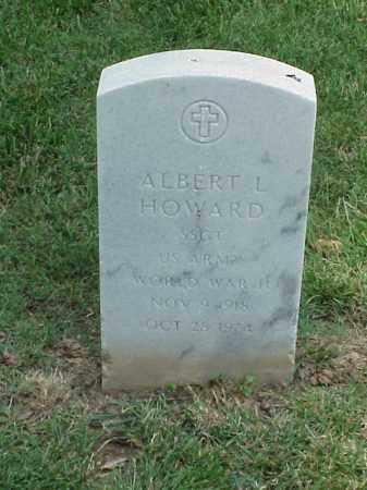 HOWARD (VETERAN WWII), ALBERT L - Pulaski County, Arkansas | ALBERT L HOWARD (VETERAN WWII) - Arkansas Gravestone Photos