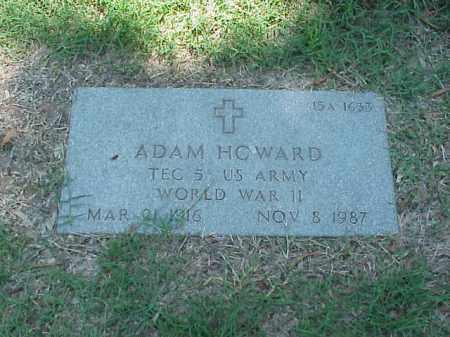 HOWARD (VETERAN WWII), ADAM - Pulaski County, Arkansas   ADAM HOWARD (VETERAN WWII) - Arkansas Gravestone Photos
