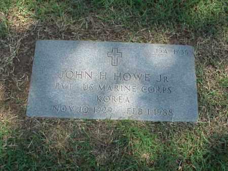 HOWE, JR (VETERAN KOR), JOHN H - Pulaski County, Arkansas   JOHN H HOWE, JR (VETERAN KOR) - Arkansas Gravestone Photos