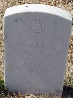 HOWE, PEARL L. - Pulaski County, Arkansas   PEARL L. HOWE - Arkansas Gravestone Photos