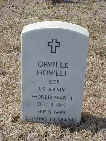 HOWELL (VETERAN WWII), ORVILLE - Pulaski County, Arkansas | ORVILLE HOWELL (VETERAN WWII) - Arkansas Gravestone Photos