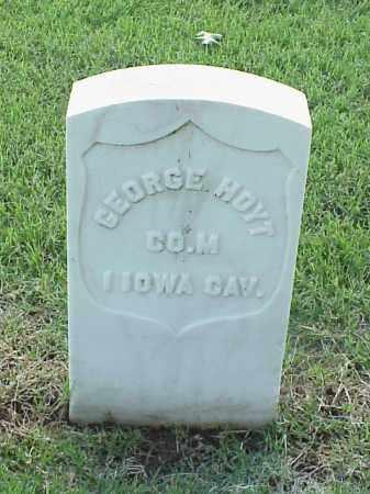 HOYT (VETERAN UNION), GEORGE - Pulaski County, Arkansas | GEORGE HOYT (VETERAN UNION) - Arkansas Gravestone Photos